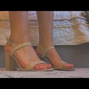 B.P nude heels